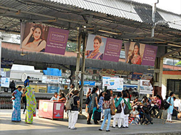 Railway Platform Board Advertising